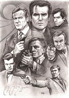 the many faces of Bond