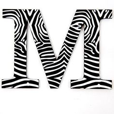 S Shop PVC Wall Stickers Zebra for Stylish Home Living Room Art Decorative Decals zebra gifts for your zebra lover. Initial Wall, Letter Wall, 3d Wall Decor, Diy Wall Art, Zebra Cupcakes, Banquet Decorations, Diy Home Crafts, Decor Crafts, Pvc Wall