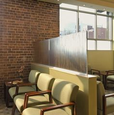 waiting room design - privacy panels