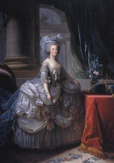 Portrait of Marie Antoinette, Queen of France, Artist may be Gautier Dagoty. Marie Antoinette of Austria, Queen of France, French History, Art History, Marie Antoinette, Versailles, Maria Theresia, Kaiser Franz, Kunsthistorisches Museum, French Royalty, Francis I