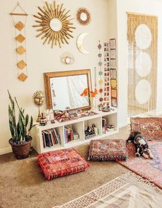 Lady Scorpio by Alexa Halladay How to Bring Beauty into your Home Bohemian Vibes Zen Meditation Jungalow Urban Jungle All Seeing Eye Chakra Chakras U. Zen Room, Boho Room, Bohemian Bedroom Diy, Zen Bedroom Decor, Nature Inspired Bedroom, Bedroom Ideas, Hippy Room, Decor Room, Wall Decor