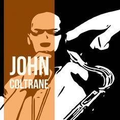 The cover of Blue Train vectorized - John Coltrane