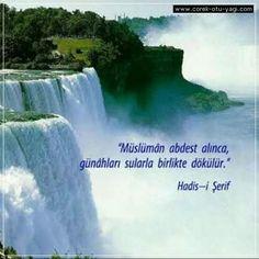 Hadislerle takva Spiritual Photos, Nature's Miracle, World Photo, What A Wonderful World, Christian Life, Natural World, Holy Spirit, Gods Love, Niagara Falls