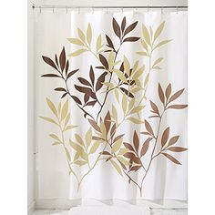 InterDesign Leaves Fabric Shower Curtain 72 x 72, Brown InterDesign http://www.amazon.com/dp/B003S9WJKO/ref=cm_sw_r_pi_dp_6CLowb0C6Y4H6