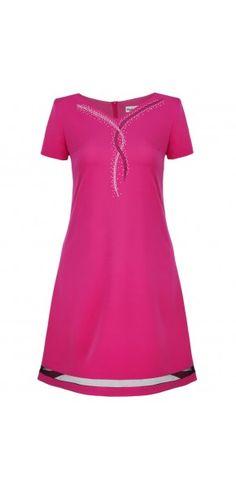 Sukienki wieczorowe - Kolekcja wiosenna    Sukienka z paskiem V Neck, Tops, Women, Fashion, Moda, Fashion Styles, Fashion Illustrations, Woman