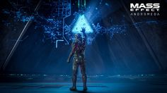 BioWare x EA have released the cinematic reveal trailer for Mass Effect: Andromeda, which you can view above. Mass Effect: Andromeda takes players far Mass Effect 2, Mass Effect Universe, News Games, Video Games, Pc Games, Cyberpunk, Playstation, Gamer News, Electronic Arts