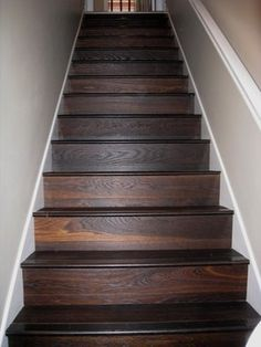 Painted Stair Skirts Risers Amp Spindles With A Tonal