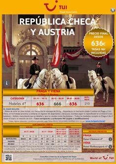 República Checa: Praga y Viena. Precio final desde 636€ - http://zocotours.com/republica-checa-praga-y-viena-precio-final-desde-636e-2/