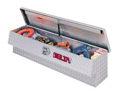 """Delta 865260 64-1/2"""" Long Lid Bright Aluminum Innerside Truck Box $577.98"""
