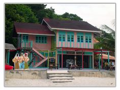 More More Tea Inn Redang Island, Cabin, Tea, World, House Styles, Home Decor, Decoration Home, Room Decor, Cottage