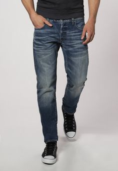 G-Star - 3301 LOW TAPERED - Jeans Slim Fit - medium aged - 100 € (Zalando)