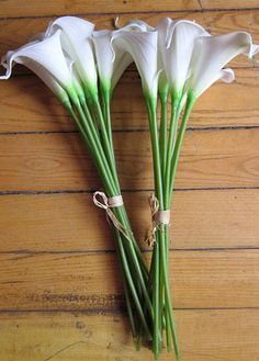 DIY Cally Lily Bouquet