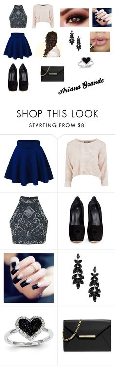 """""""Ari"""" by pontesthuany on Polyvore featuring Giuseppe Zanotti, Kevin Jewelers, Disney and MICHAEL Michael Kors"""