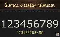 Sumar y restar números para obtener 100 #gimnasiamental #entrenatumente