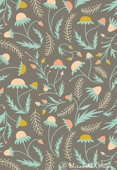 Beautiful Pattern by Elizabeth Olwen via Print and Pattern