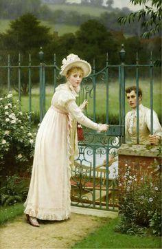 Where there's a will (Edmund Blair Leighton - 1892)