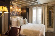 Chambre/Room Inspiration 16 m² - Hôtel Da Vinci, Paris #hotel #Paris #DaVinci