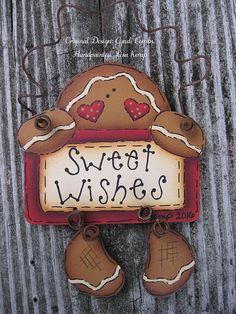 270 Ideas De Gingerbread Pintura Country Madera Navidad Galletas De Gengibre Navideño