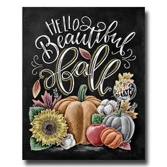 Arts And Crafts Cabinet Fall Chalkboard Art, Thanksgiving Chalkboard, Chalkboard Drawings, Chalkboard Print, Chalkboard Lettering, Chalkboard Designs, Halloween Chalkboard Art, Autumn Art, Autumn Leaves