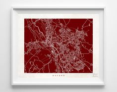Oxford Street Map Print