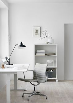 Inspiration for creating modern Scandinavian style workspace