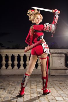 Natsu From Soul Calibur IV by ~ivettepuig ... - Cosplay and Costumes #cosplay #sexy #sexycosplay