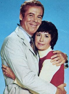 David O'Brien (Dr. Steve Aldrich) and Carolee Campbell (Nurse Carolee Simpson).