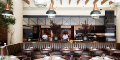 l'amico restaurant chelsea new york by voyage in design