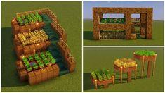 Minecraft Garden, Minecraft House Plans, Minecraft Farm, Minecraft Images, Minecraft Cottage, Cute Minecraft Houses, Minecraft House Designs, Minecraft Blueprints, Cool Minecraft