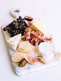 Cheese plate. By far my favvy app! (Cheese Plate Appetizer)