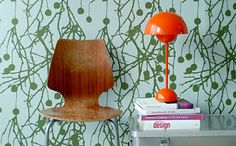"""wall paper""""Tree Bomb"""" from Ferm Living"""