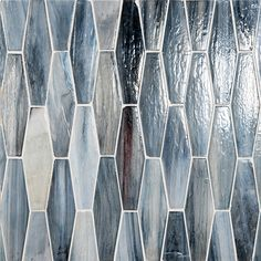Vihara Collection - made with post-consumer glass, each tile is handmade of twisted tones, textures and hues that come together as one singularly beautiful mosaic. Diy Kitchen Cupboards, Glass Tile Bathroom, Silk Material, Commercial Interiors, Interior Walls, Kitchen Remodeling, Mosaic, Texture, Beach