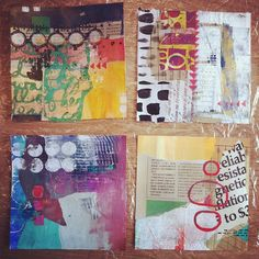 .@Julie Fei-Fan Balzer | Working on collages today. | Webstagram - the best Instagram viewer