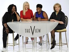 """See the first studio shots of Jenny McCarthy with her fellow """"View"""" hosts Whoopi Goldberg, Sherri Shepherd and Barbara Walters. She joins the daytime show when it kicks off its new season Sept. 9."""