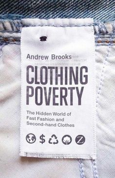 Let's talk about clothing poverty.