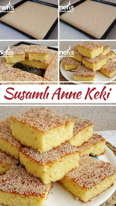 Susamlı Anne Keki - Nefis Yemek Tarifleri Homemade Beauty Products, Cupcakes, Vanilla Cake, French Toast, Food And Drink, Meals, Breakfast, Desserts, Wordpress Theme
