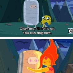 I want Finn and Flame Princess to get back together!! So cuuute