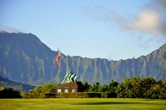 Marine Corps Base Hawaii...home for now!