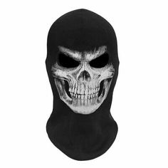 Adults Halloween Mask Grim Reaper Scary Skull Realistic Latex Party Horror Prop | eBay Maske Halloween, Halloween Clown, Halloween Vampire, Halloween Gifts, Halloween Costumes, Halloween Party, Airsoft Full Face Mask, Airsoft Mask, Ski Mask