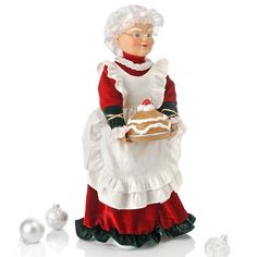 Claus with Pie Mrs Claus, Christmas 2015, Ronald Mcdonald, Bing Images, Christmas Decorations, Santa, Animation, Cartoon, Lady