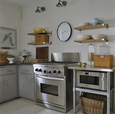 1000 images about upper kitchen cabinet alternatives on for Alternative kitchen cabinets