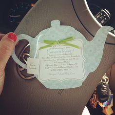 Tea party invite (DelilahIris on Etsy)