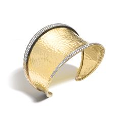 New arrival: Beautiful Squeeze Cuff (width 65mm) with Diamond Pave #JohnHardy