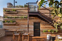 Tel Aviv for Design Lovers | Rue Wine Dispenser, Mediterranean Plants, Wall Installation, Hotel Lobby, Brickwork, Tel Aviv, Hotel Reviews, Rooftop, Exterior