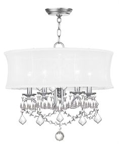 Manufacturers of today are always coming up with new designs, drawing inspiration from previous generations. And as a result, the Livex Lighting 6305-91 Chandeliers Newcastle 5-Light Brushed Nickel is a mix of both classic, modern and a mix of both.  Call 888-752-5448 and Get the Lowest Price in the Market.