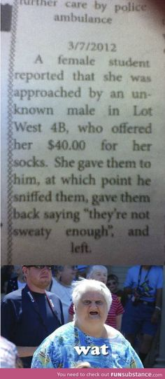 Why... Would you put that on a newspaper?