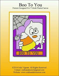 BOO TO YOU by JODY VIGEANT -- WALL HANGING 1/2