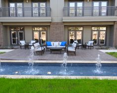 Relax in our courtyard