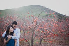 capture your personalities and love with unique engagement photos. Outside options are fun and different...