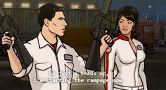 Archer and Lana